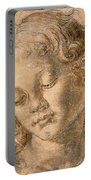 Head Of An Angel Portable Battery Charger