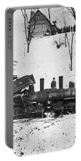 Head On Train Wreck Portable Battery Charger