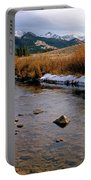 Headwaters Of The River Of No Return Portable Battery Charger