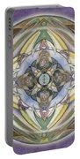 Healing Mandala Portable Battery Charger