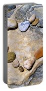 Heart And Stones  Portable Battery Charger