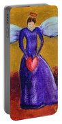 Heart Angel Portable Battery Charger