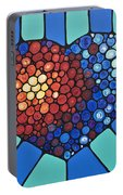 Heart Art - Love Conquers All 2  Portable Battery Charger