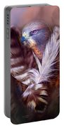 Heart Of A Hawk Portable Battery Charger