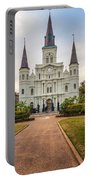 Heart Of The French Quarter Portable Battery Charger
