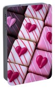 Hearts On Candy Portable Battery Charger
