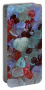 Hearts On Sea Glass Portable Battery Charger