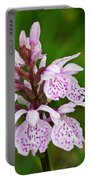 Heath Spotted Orchid Portable Battery Charger