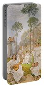 Heaven Portable Battery Charger by Hans Thoma