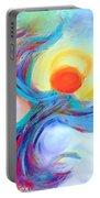 Heaven Sent Digital Art Painting Portable Battery Charger