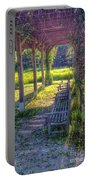 Heavenly Grape Arbor Portable Battery Charger
