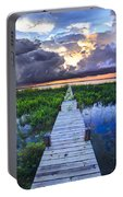 Heavenly Harbor Portable Battery Charger by Debra and Dave Vanderlaan