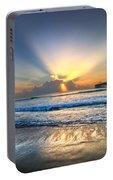 Heaven's Door Portable Battery Charger by Debra and Dave Vanderlaan