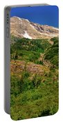 Heavens Peak Glacier International Peace Park Portable Battery Charger