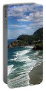 Heceta Head Portable Battery Charger by Darren  White