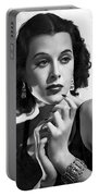 Hedy Lamarr - Beauty And Brains Portable Battery Charger