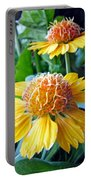 Helenium Flowers 1 Portable Battery Charger