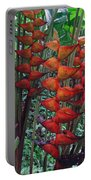 Heliconia Haven Portable Battery Charger