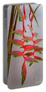 Heliconia Platystachys Portable Battery Charger