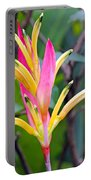 Heliconia Psittacorum Portable Battery Charger