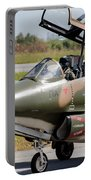 Hellenic Air Force Pilots Sitting Portable Battery Charger