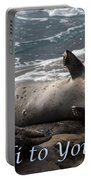 Hello To You Sea Lion Portable Battery Charger