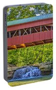Helmick Mill Or Island Run Covered Bridge  Portable Battery Charger