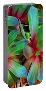 Hen And Chicks  Digital Paint Portable Battery Charger