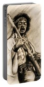 Hendrix-antique Tint Version Portable Battery Charger