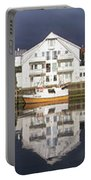 Henningsvaer Panoramic View Portable Battery Charger