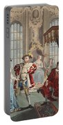 Henry Viii And Anne Boleyn Portable Battery Charger