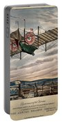 Henson's Aerial Steam Carriage 1843 Portable Battery Charger