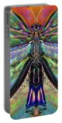 Her Heart Has Wings - Spiritual Art By Sharon Cummings Portable Battery Charger