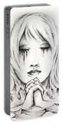 Her Prayers Portable Battery Charger