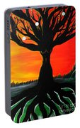 Her Roots Run Deep Portable Battery Charger