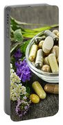Herbal Medicine And Herbs Portable Battery Charger