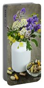 Herbal Medicine And Plants Portable Battery Charger