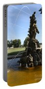Hercules Sculpture Water Fountain  Portable Battery Charger