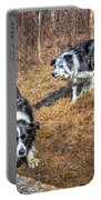Herder And Herded Portable Battery Charger