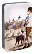 Herdsmen Of Sheep And Cattle, From The Portable Battery Charger