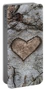 Here Is My Heart Portable Battery Charger