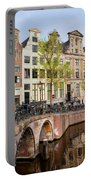 Herengracht Canal Houses In Amsterdam Portable Battery Charger