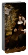 Hermia And Helena Portable Battery Charger