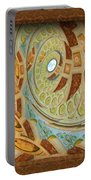 Hermitage Abstract Swirl  Portable Battery Charger