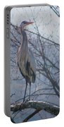 Heron Looking Out Portable Battery Charger