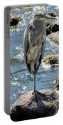 Heron On One Leg Portable Battery Charger