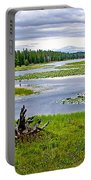 Heron Pond In Grand Teton National Park-wyoming   Portable Battery Charger