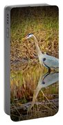 Heron Reflection Portable Battery Charger