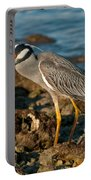 Heron With Crab Portable Battery Charger