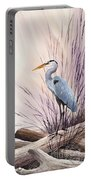 Herons Driftwood Home Portable Battery Charger